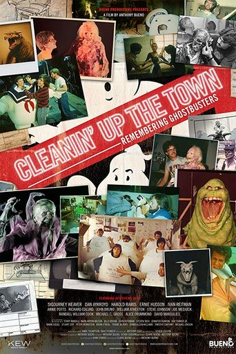 Cleanin' Up the Town: Remembering Ghostbusters Poster