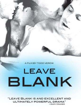 Leave Blank Poster