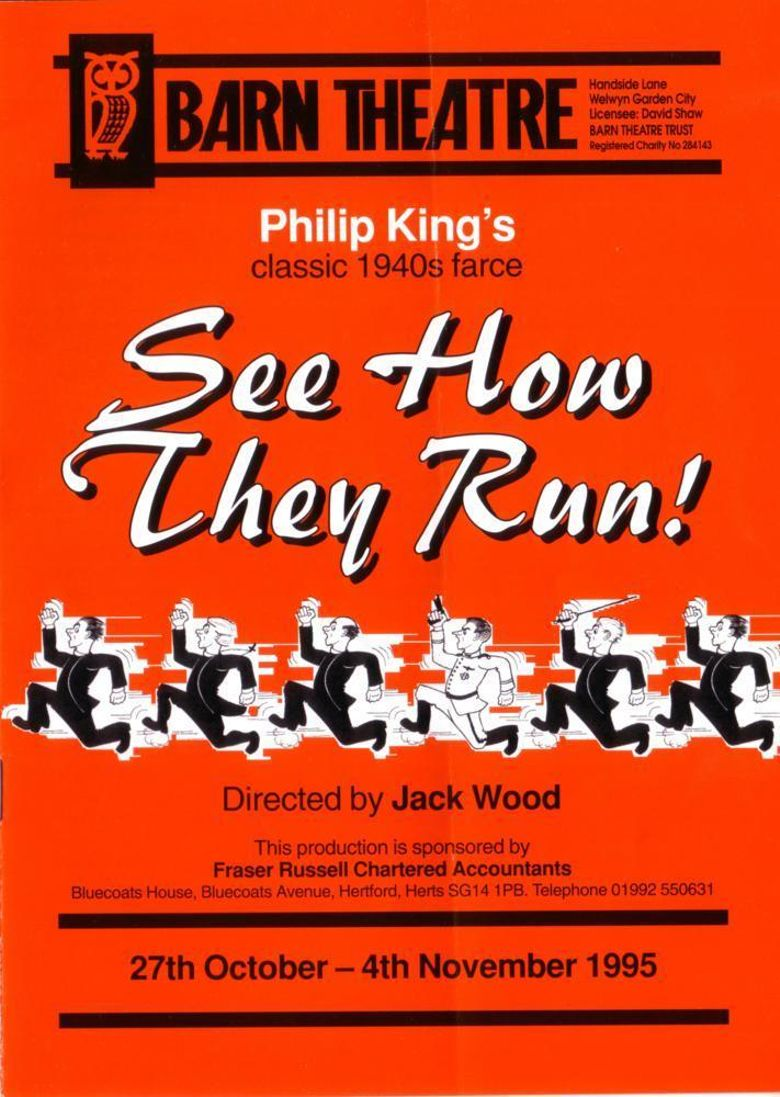 See How They Run Poster