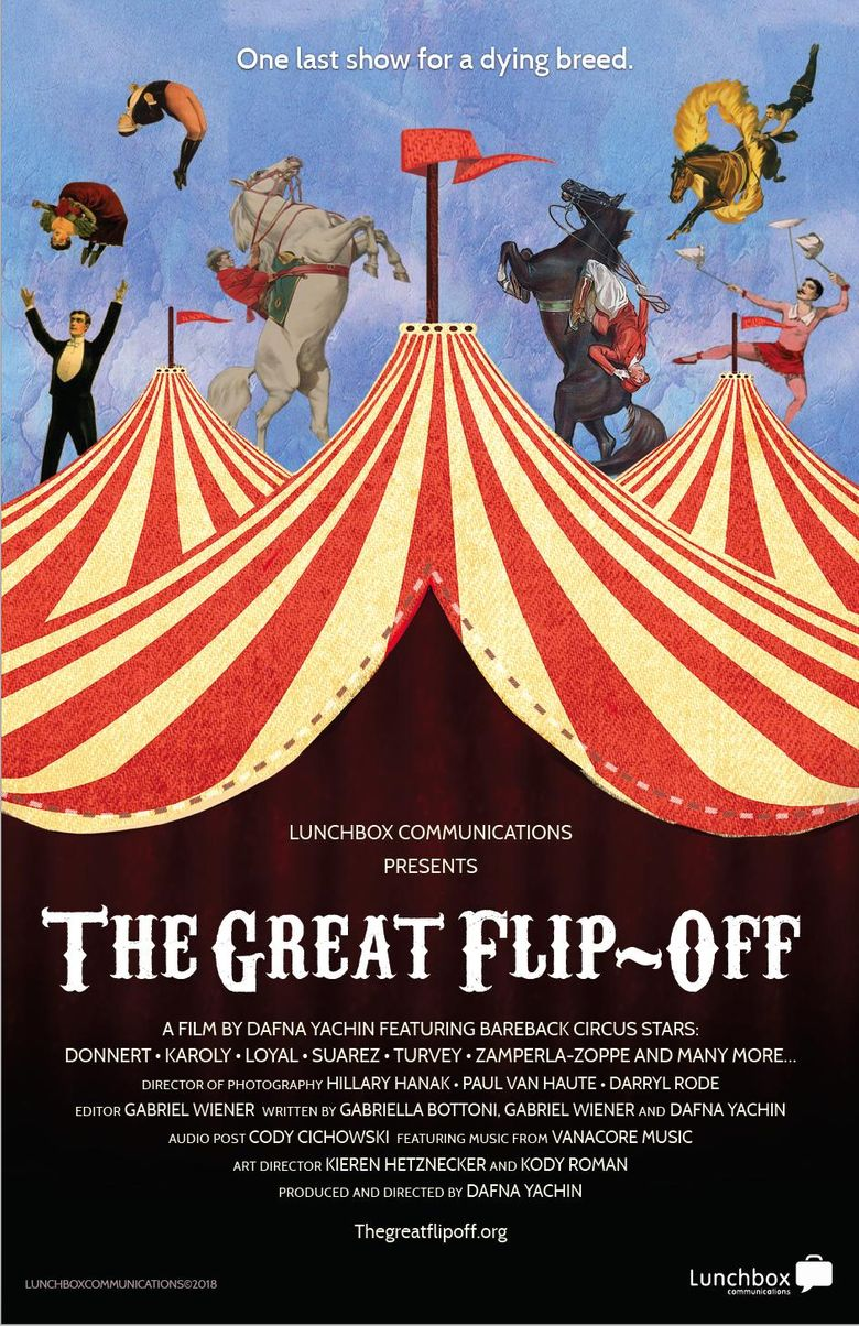 The Great Flip-Off Poster