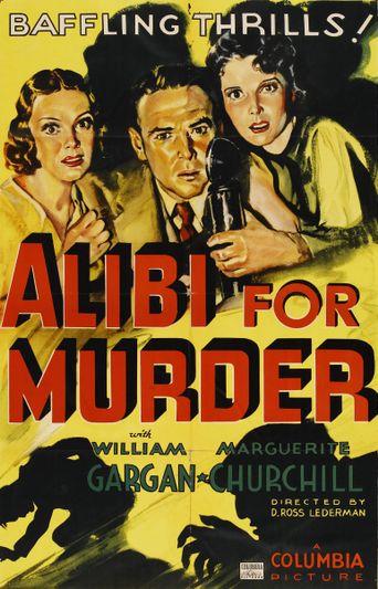 Alibi For Murder Poster