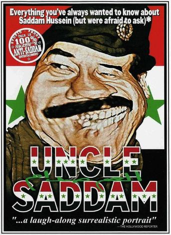 Uncle Saddam Poster