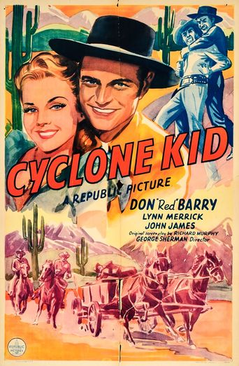 The Cyclone Kid Poster
