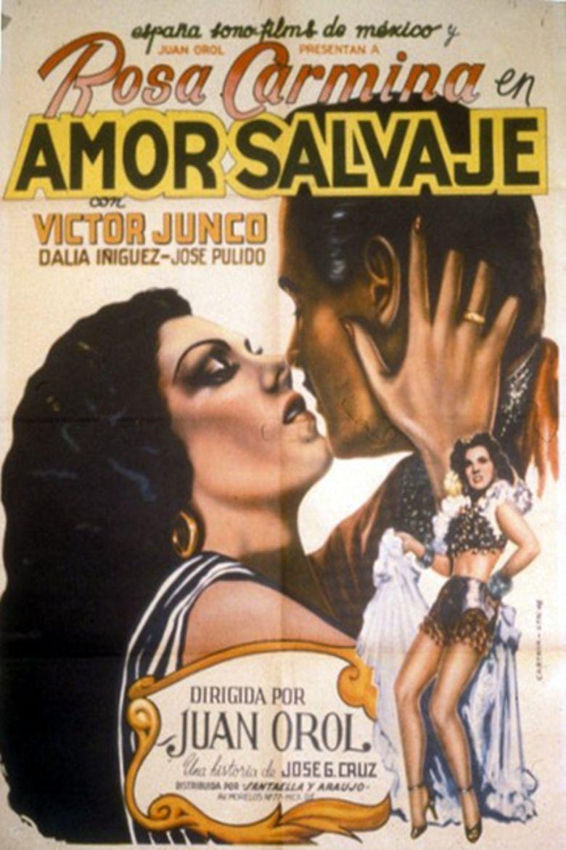 Amor salvaje Poster