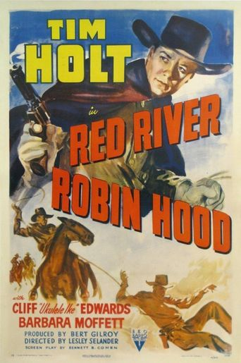 Red River Robin Hood Poster