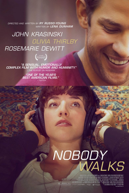 Nobody Walks Poster