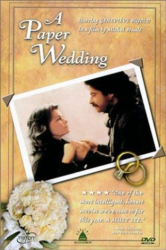 A Paper Wedding Poster