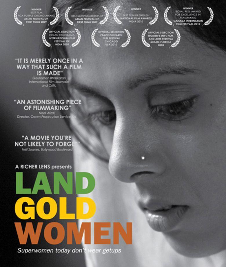 Land Gold Women Poster