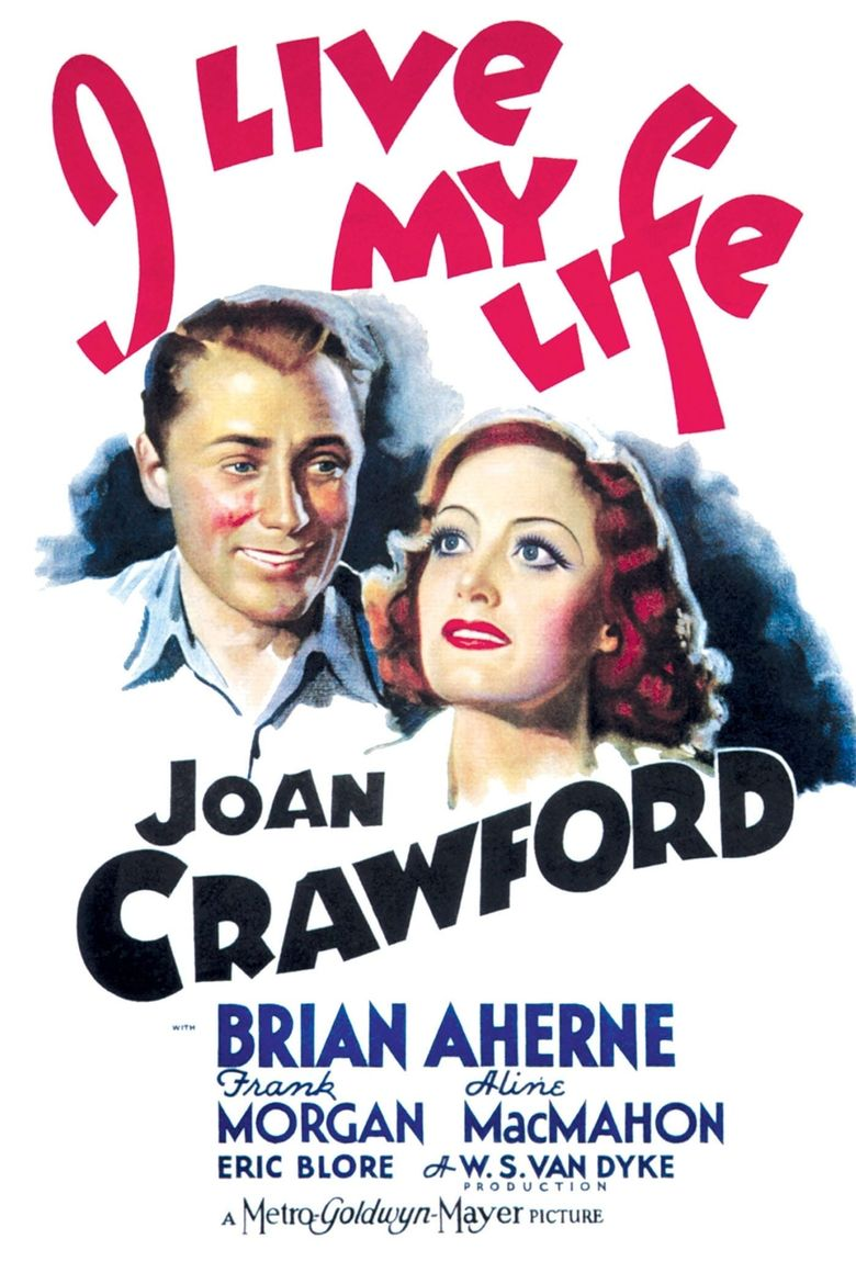 I Live My Life Poster