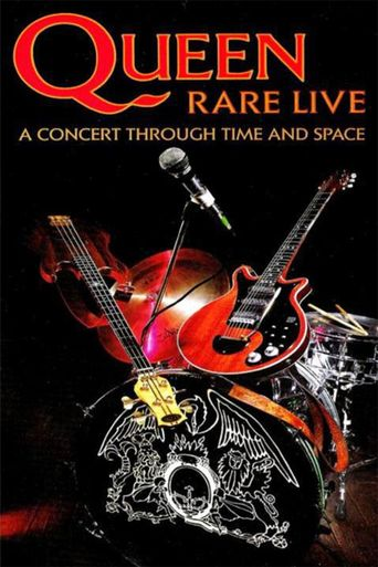 Queen: Rare Live - A Concert Through Time and Space Poster