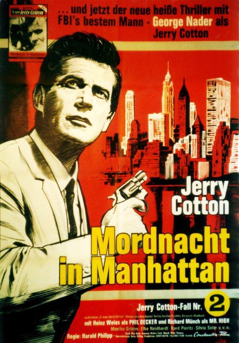 Manhattan Night of Murder Poster