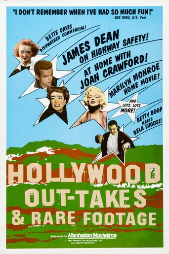 Hollywood Out-takes and Rare Footage Poster