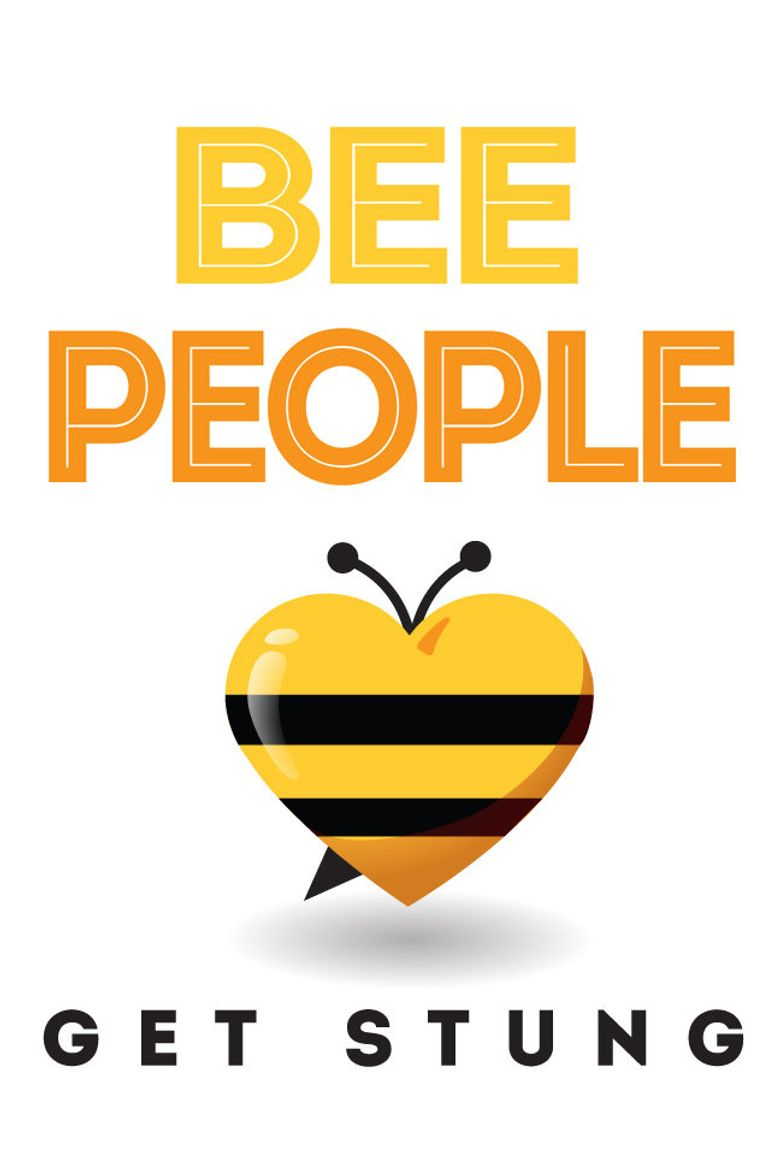 Bee People Poster