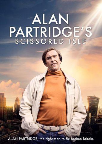 Alan Partridge's Scissored Isle Poster