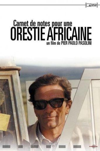 Notes Towards an African Orestes Poster