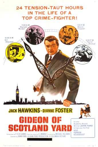 Gideon of Scotland Yard Poster
