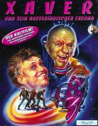 Xaver und sein außerirdischer Freund Poster