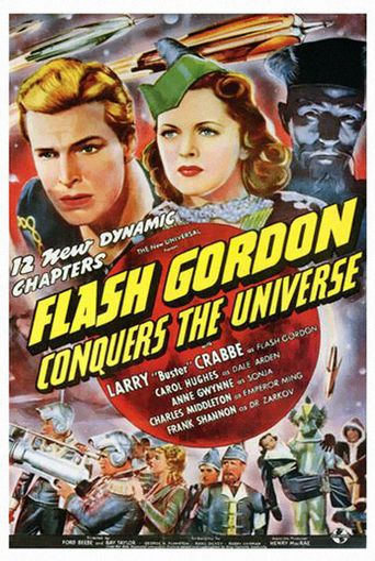 Flash Gordon Conquers the Universe Poster