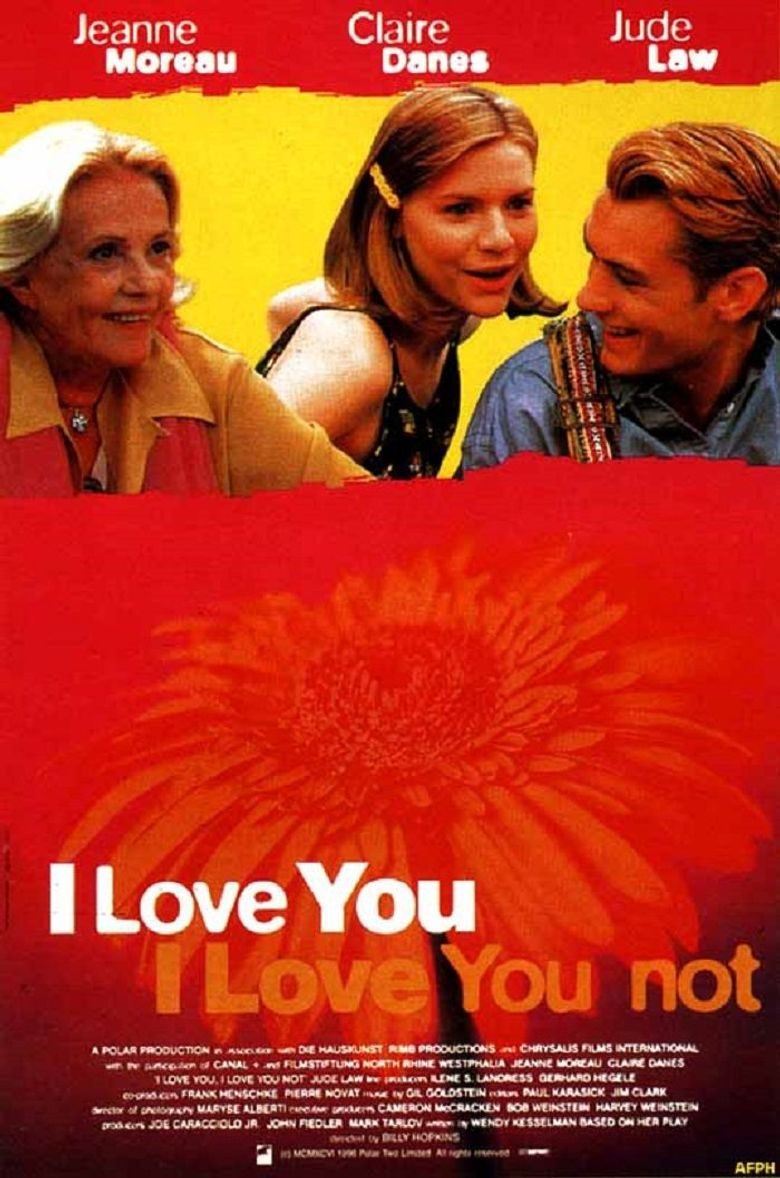 I Love You, I Love You Not Poster