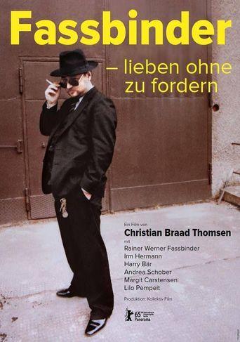 Fassbinder: Love Without Demands Poster