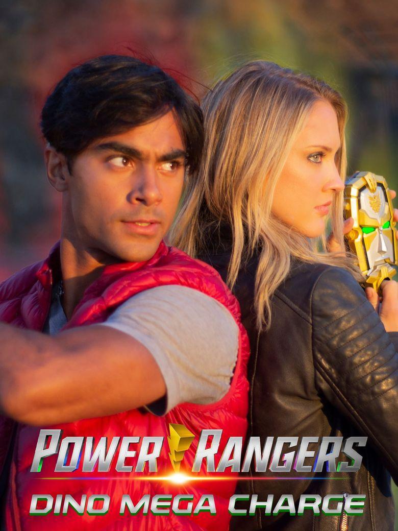 Dino Mega Charge - Power Rangers Fan Film Poster