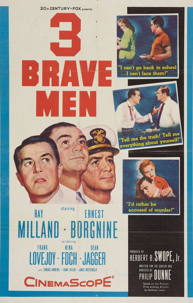 Three Brave Men Poster