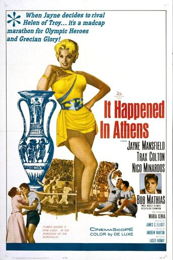It Happened in Athens Poster