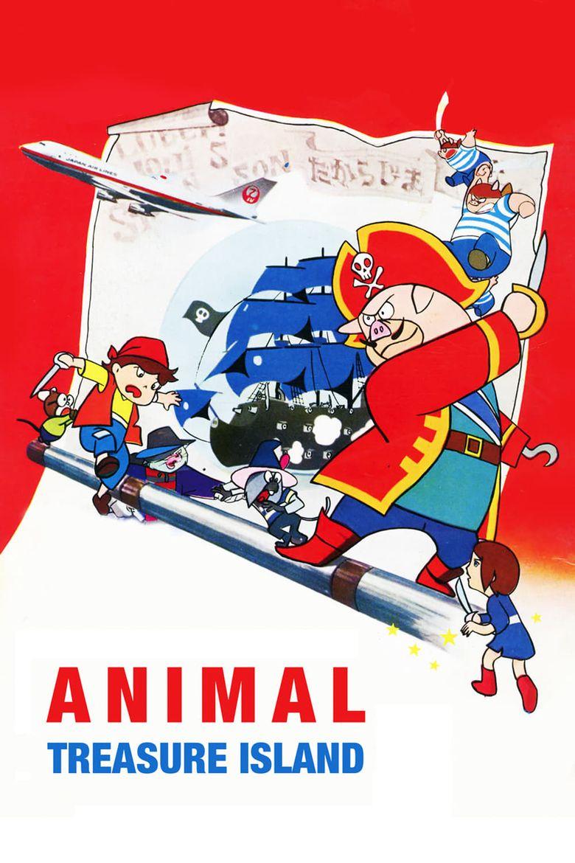 Animal Treasure Island Poster