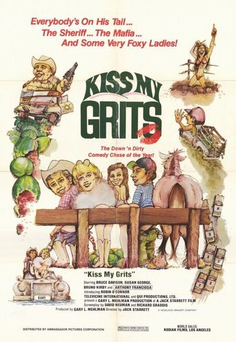 Kiss My Grits Poster