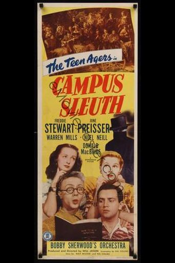 Campus Sleuth Poster
