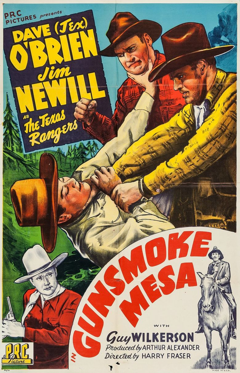 Gunsmoke Mesa Poster
