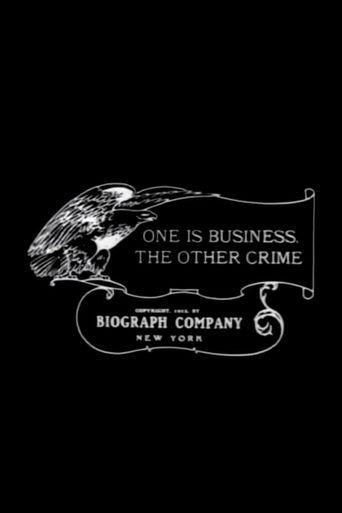 One Is Business, the Other Crime Poster