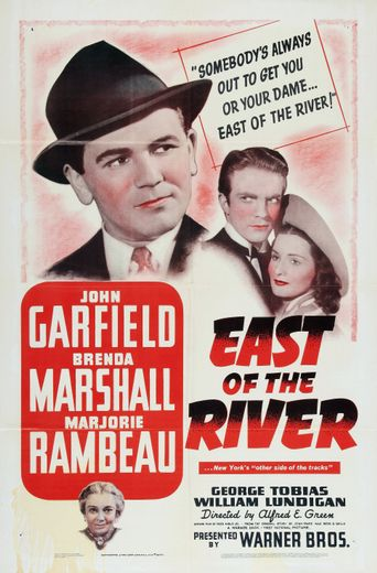 East of the River Poster