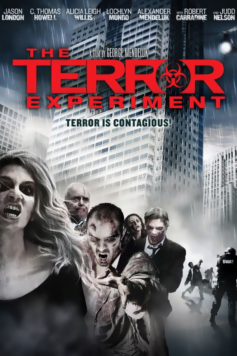The Terror Experiment Poster
