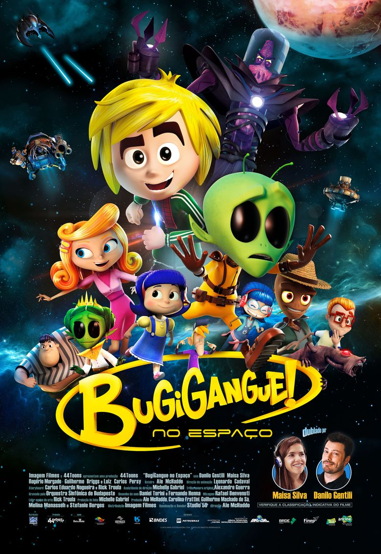 GadgetGang in Outer Space Poster