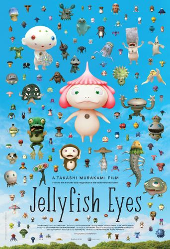 Jellyfish Eyes Poster