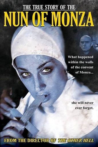 The True Story of the Nun of Monza Poster