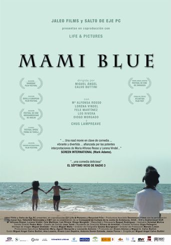 Mami blue Poster