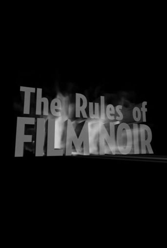 The Rules of Film Noir Poster