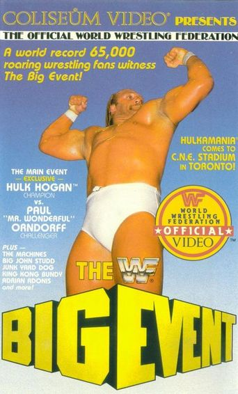 WWE The Big Event Poster