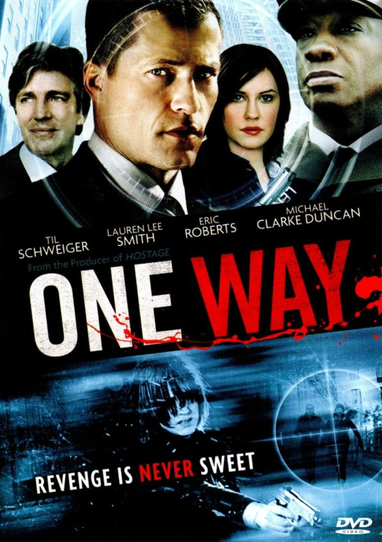 One Way Poster