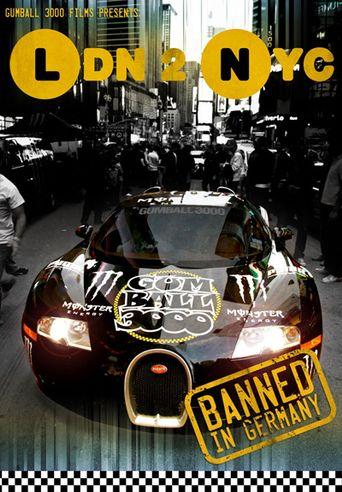 Gumball 3000: LDN 2 NYC Poster