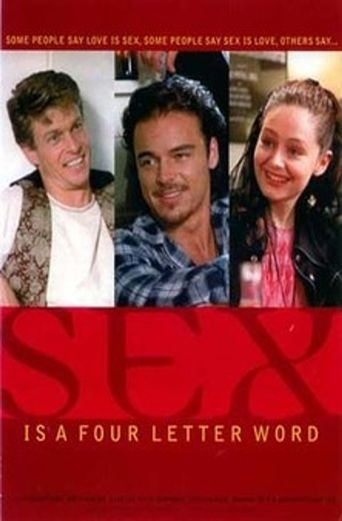 Sex Is a Four Letter Word Poster