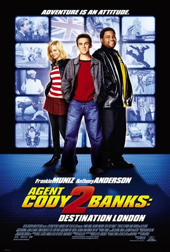 Agent Cody Banks 2: Destination London Poster