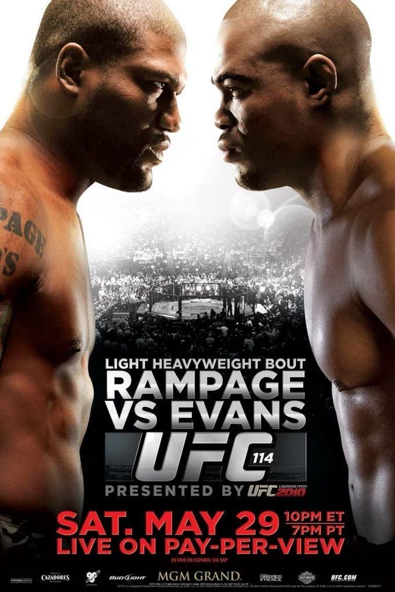 UFC 114: Rampage vs. Evans Poster