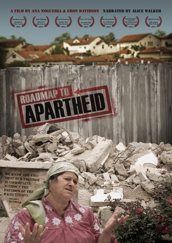 Roadmap to Apartheid Poster