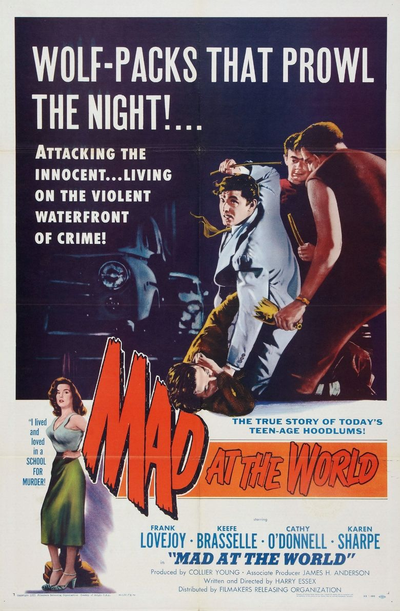 Mad at the World Poster