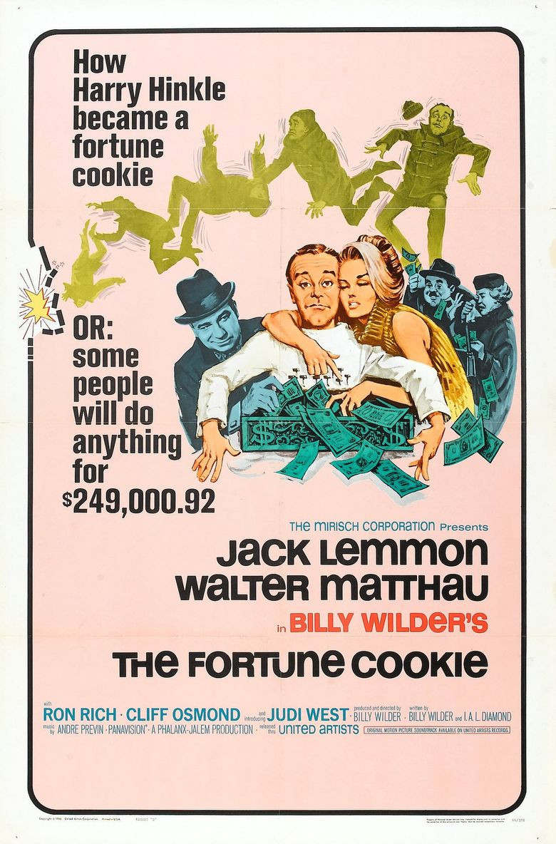 The Fortune Cookie Poster