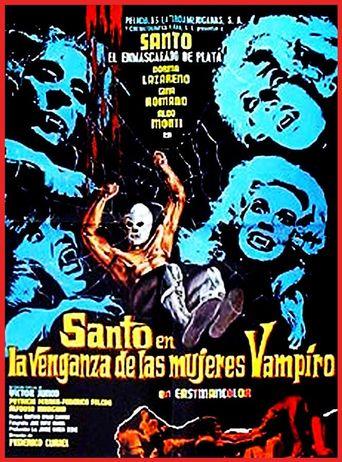 Santo in the Revenge of the Vampire Women Poster