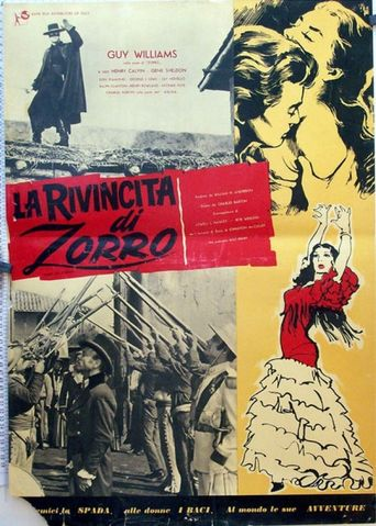Zorro, the Avenger Poster